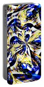 Party Time Abstract Portable Battery Charger