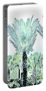 Pastel Palms Portable Battery Charger