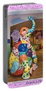 Patchwork Elephant Portable Battery Charger