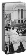 Patent Office During Presidential Inauguration - Washington Dc - C 1889 Portable Battery Charger