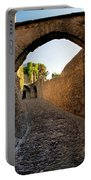 Pathway Through Gordes France Portable Battery Charger