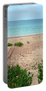 Pathway To The Beach Portable Battery Charger