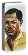 Patrice Lumumba Portable Battery Charger