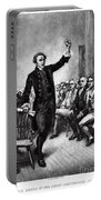 Patrick Henry, American Patriot Portable Battery Charger