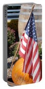 Patriotic Farm Stand Portable Battery Charger