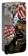 Patriotism Rides Portable Battery Charger