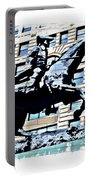 Paul Revere Galloping Statue Portable Battery Charger