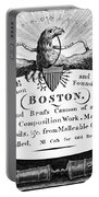 Paul Revere: Trade Card Portable Battery Charger