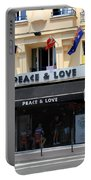 Peace And Love Hostel Portable Battery Charger