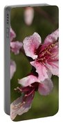 Peach Blossom Clusters Portable Battery Charger