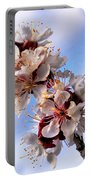 Peach Blossoms Portable Battery Charger