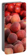 Peaches And Nectarines Portable Battery Charger