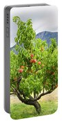 Peaches On Tree Portable Battery Charger