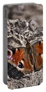 Peacock Butterfly Portable Battery Charger