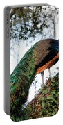 Peacock Calling Portable Battery Charger