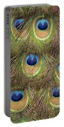 Peacock Feather Eyes Portable Battery Charger