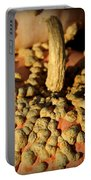 Peanut Pumpkins Portable Battery Charger by Karen Wiles