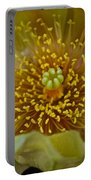 Pear Cactus Close Up Portable Battery Charger
