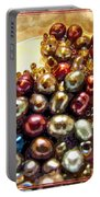 Pearls In A Pile  Art Portable Battery Charger