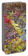 Peeking Through The Berries Portable Battery Charger