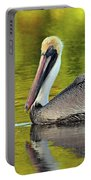 Pelican On A Golden Pond Portable Battery Charger