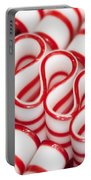 Peppermint Ribbon Candy Portable Battery Charger