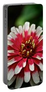 Peppermint Zinnia Portable Battery Charger