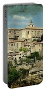 Perched Village Of Gordes Portable Battery Charger