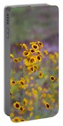 Perky Golden Coreopsis Wildflowers Portable Battery Charger