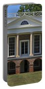 Personal Villa Retreat Of Thomas Jefferson Portable Battery Charger