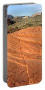 Petrified Sand Dunes - Snow Canyon Utah  Portable Battery Charger