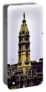 Philadelphia City Hall Tower Portable Battery Charger