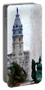 Philadelphia Fountain Portable Battery Charger