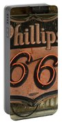 Phillips 66 Vintage Sign Portable Battery Charger