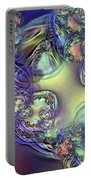 Phytoplankton Portable Battery Charger by Ron Bissett