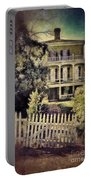 Picket Gate To Large House Portable Battery Charger