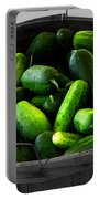 Pickling Cucumbers Portable Battery Charger by Ms Judi