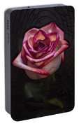 Picturesque Satin Rose Portable Battery Charger