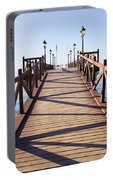 Pier On Costa Del Sol In Marbella Portable Battery Charger