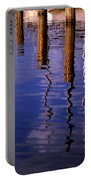 Pier Reflections Portable Battery Charger