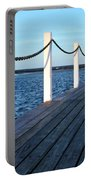 Pier To The Ocean Portable Battery Charger