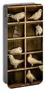 Pigeon Holed Portable Battery Charger