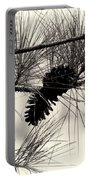Pine Cones In The Treetops Portable Battery Charger