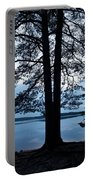 Pine Silhuette Portable Battery Charger