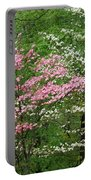 Pink And White Portable Battery Charger