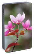 Pink Apple Blossom 2 Portable Battery Charger