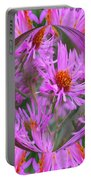 Pink Asters Energy Portable Battery Charger
