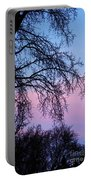 Pink Blue Sky Portable Battery Charger