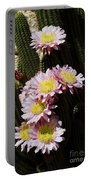 Pink Cactus Portable Battery Charger