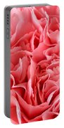 Pink Carnation Portable Battery Charger